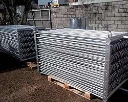 Condensador de gases fábrica