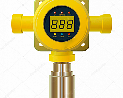 Detector de gases digital portatil