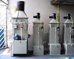 Lavador de gases em polipropileno