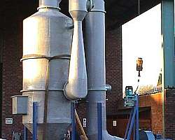 Lavador de gases de combustão