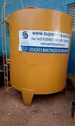 Aluguel de tanque de combustível