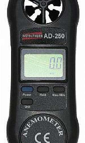 Anemômetro digital portátil