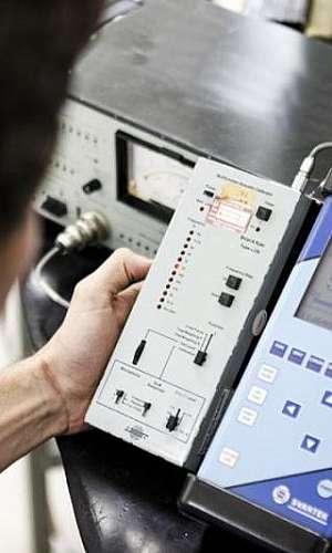 Calibração de medidor de nível sonoro