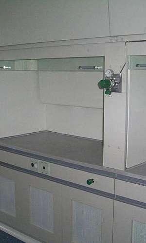 Capela de exaustão de gases