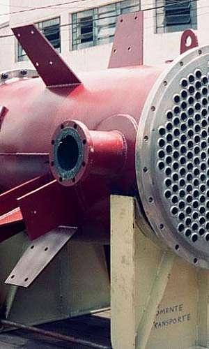 Condensador de vapor industrial