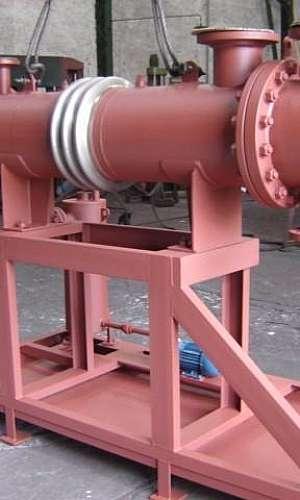 Condensador uso industrial