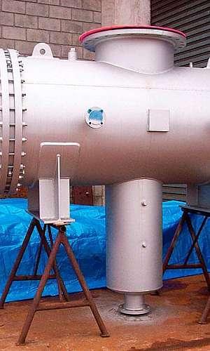Condensadores de vapor dágua