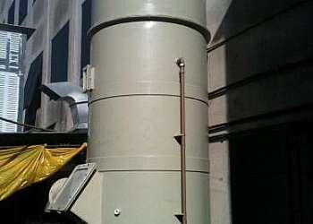 Lavador de gases fábrica