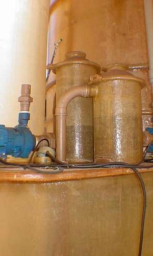 Filtro lavador de gases