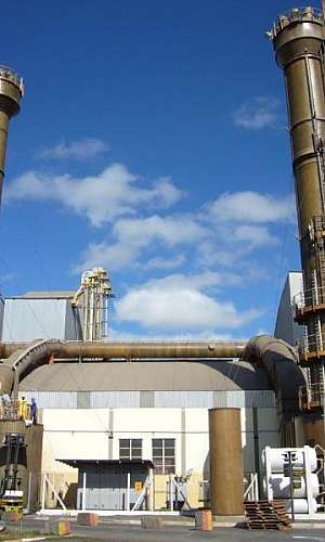 Lavador de gás industrial