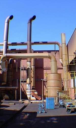 Lavador de gases compacto