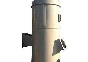 Indústria de lavador de gases