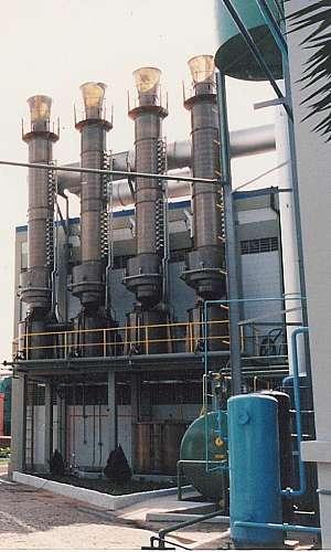 Lavador de gases modulado