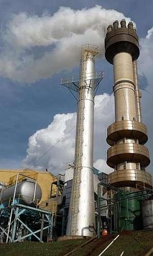 Lavador de gases torre de enchimento