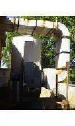 Manutenção de lavadores de gases